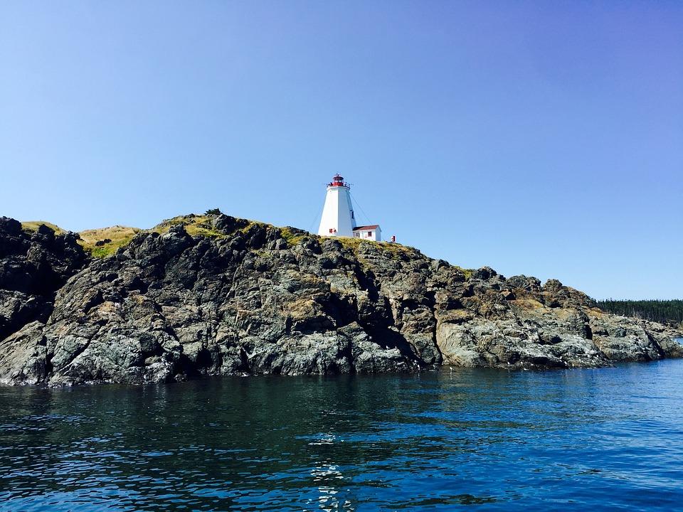 Swallowtail, Grand Manan, Ocean, Atlantic, Lighthouse