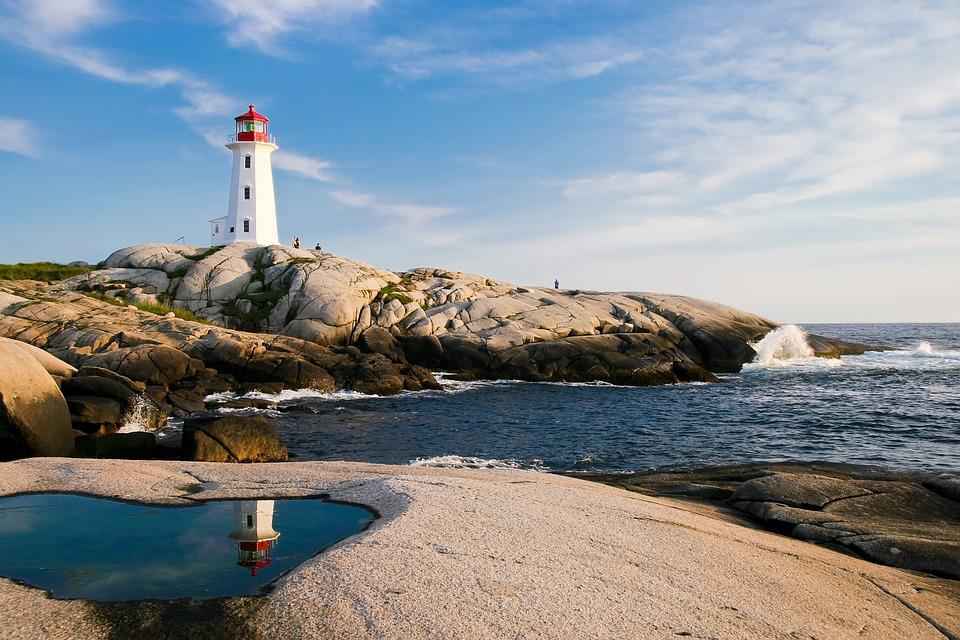 Lighthouse, Ocean, Sea, Coast, Travel, Nautical, Water