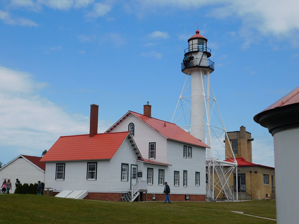Whitefish Bay Lighthouse, Lighthouse, Whitefish Point