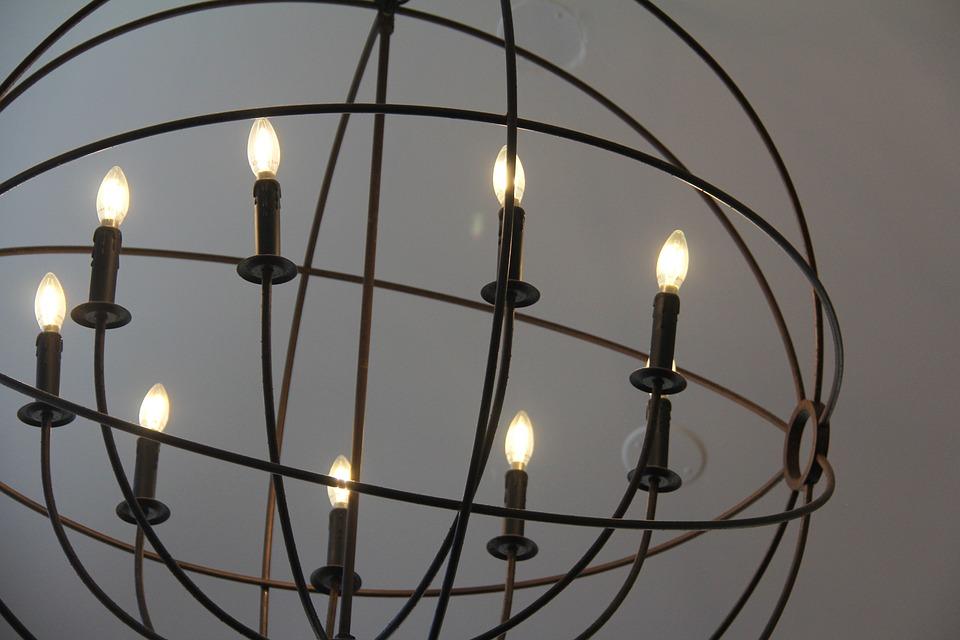 Light, Chandelier, Lamp, Candlestick, Design, Lighting