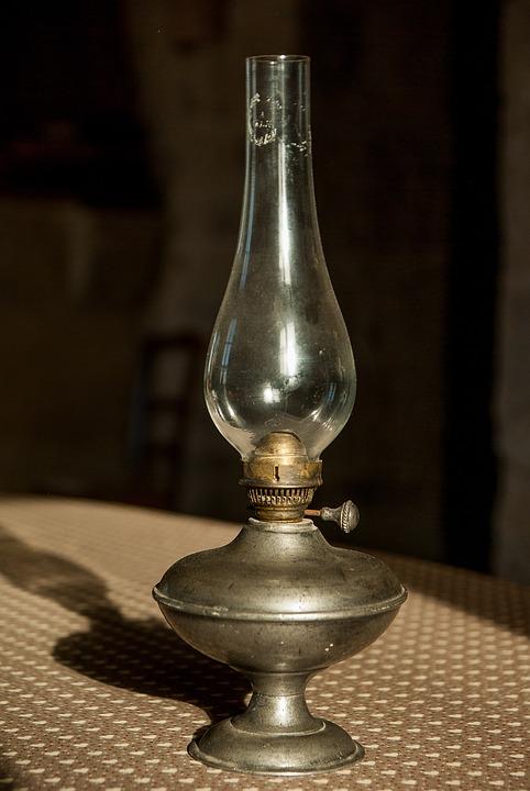 Lighting, Lamp, Former, Flea Market