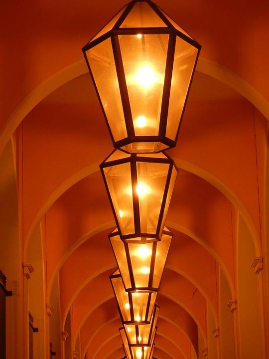 Light, Lamps, Lighting, Night, Hell