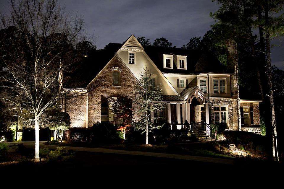 Home, Lighting, House, Landscape Lighting