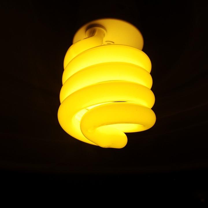 Energiesparlampe, Light, Lighting, Bulbs