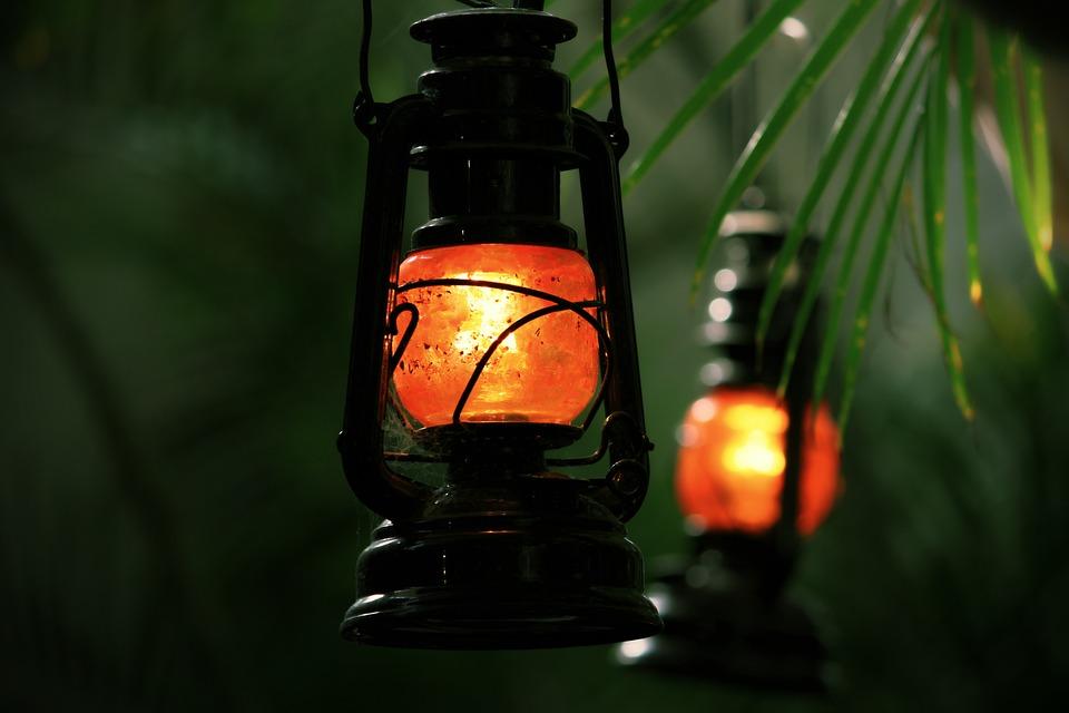 Lantern, Beach Bar, Shining, Lighting, Light