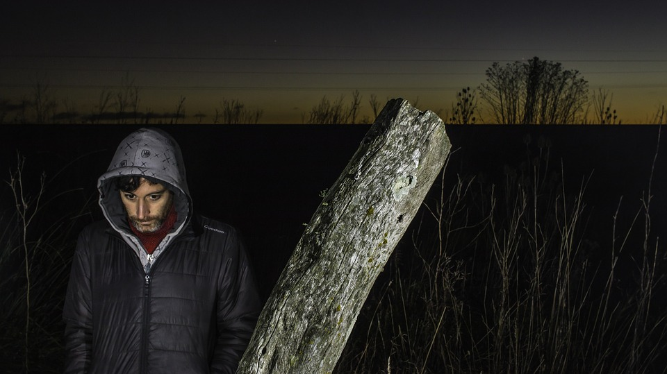 Lighting, Field, Flash, Mar Del Plata, Argentina, Man