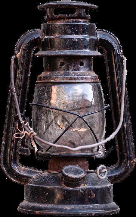 Lantern, Lighting, Traditional, Power, Source, Cutout