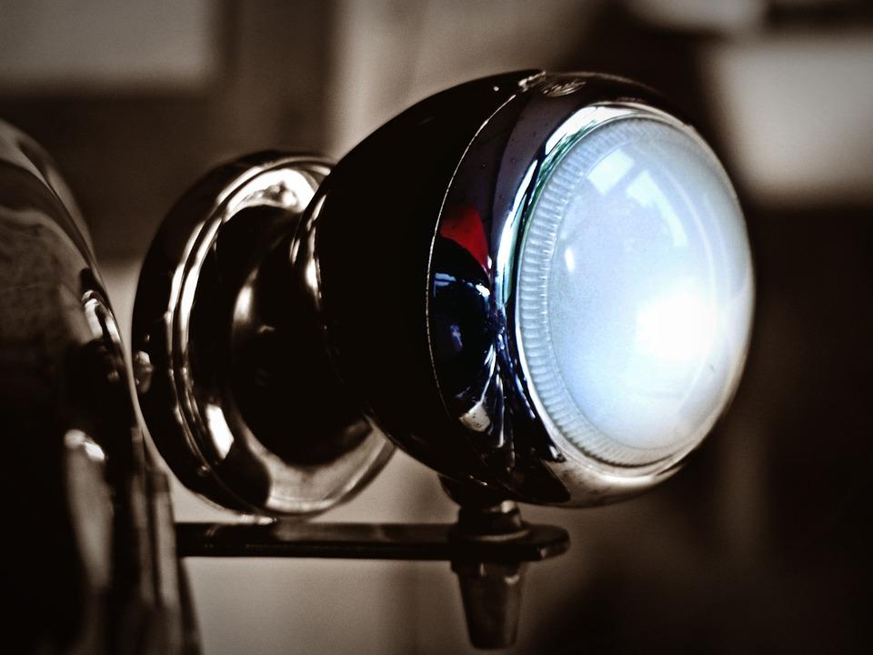 Spotlight, Lamp, Light, Vehicle, Auto, Lighting