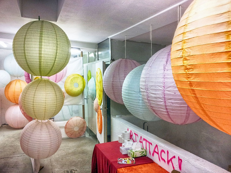 Lampion, Decoration, Lighting, Wc, Toilet