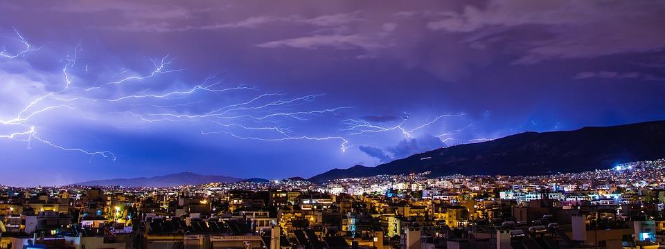 Thunder, Lighting, Lightning, Cloud, Bolt, Thunderstorm