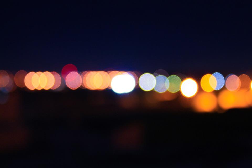 Blurred, Lights, Blurry, Blur, Effect, Night