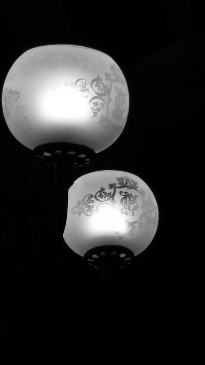 Lights, Darkness, Contrast, Lighting, Lamp
