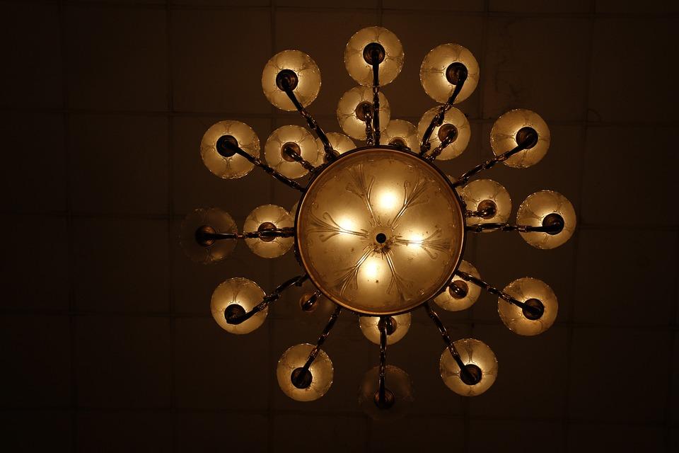 Lights, Chandelier, Decor, Bulb