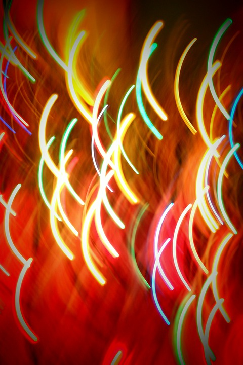 Lights, Irregularity, Glow, Colors