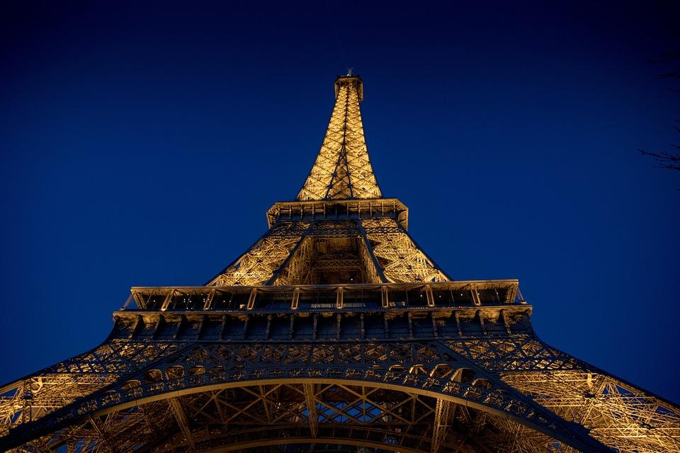 Free Photo Lights Paris Symbol Eiffel Tower Night France Max Pixel