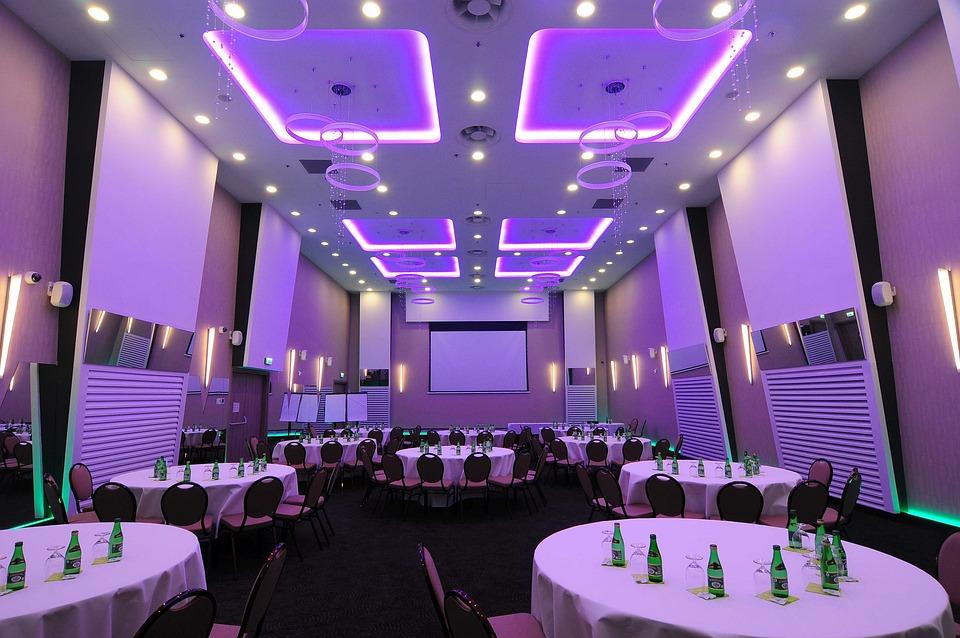 Led, Lighting, Lights, Lamps, Room, Conference