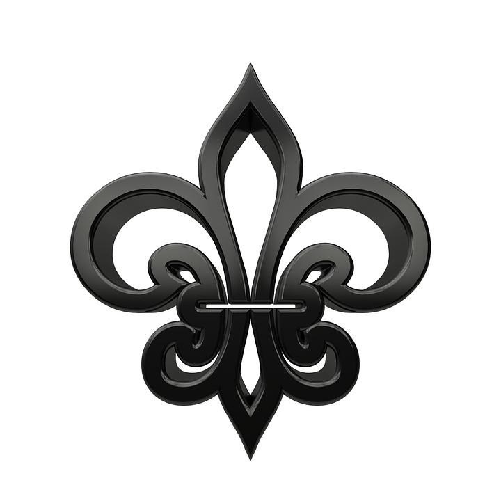Lily, Symbol, Heraldry, Iris