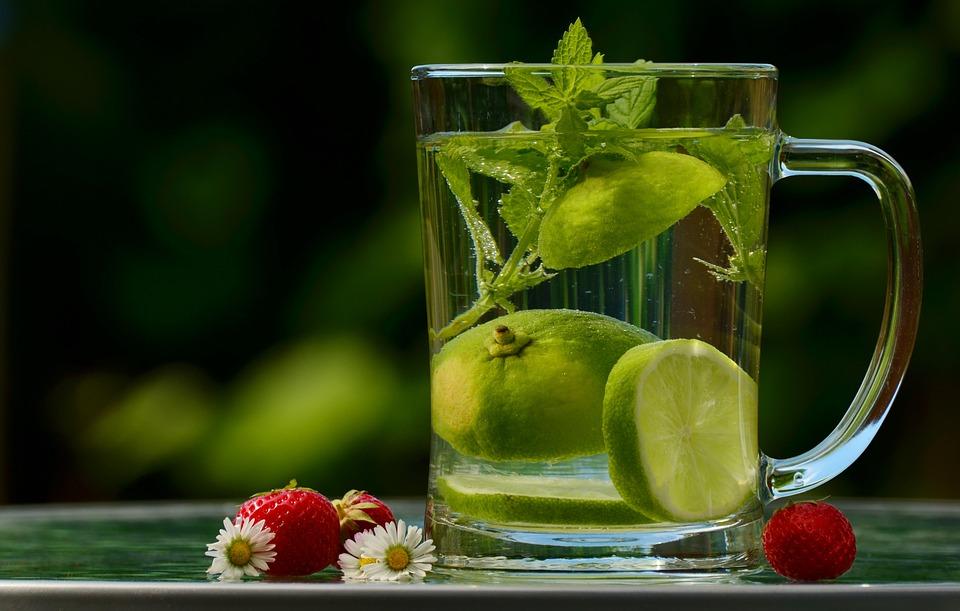 Drink, Lime, Water, Cup, Lime Water, Detox, Detox Water