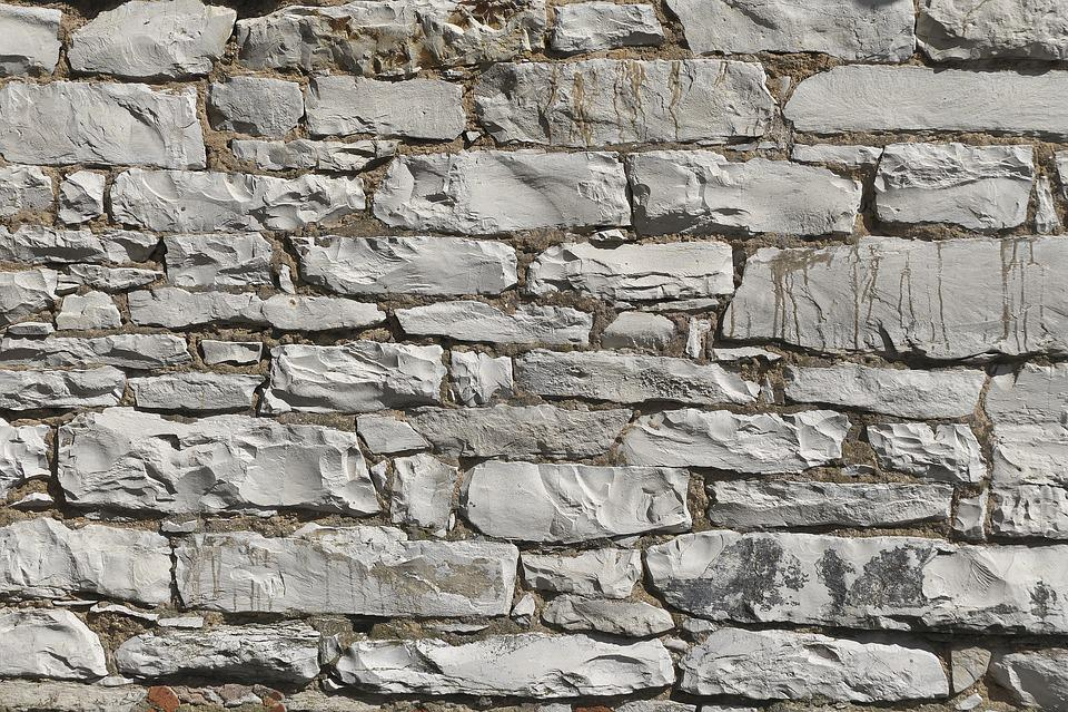 Limestone Wall, Quarry Stone, Wall, Texture