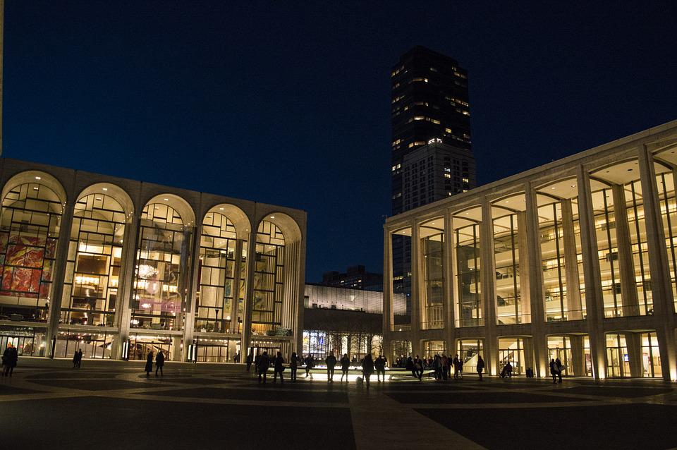 Lincoln Center, Lincoln, Center, Nyc, New York
