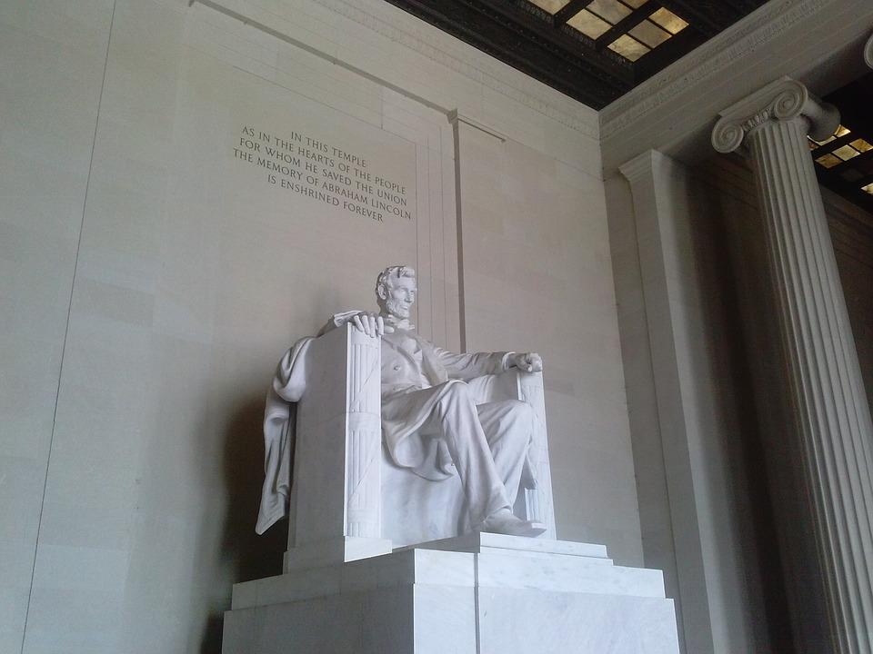 Lincoln Memorial, Abraham Lincoln, Washington Dc, Dc