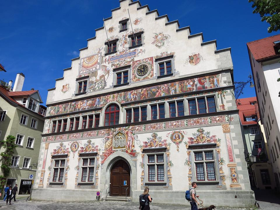 Lindau, Germany, Lake Constance, Building, Town Hall
