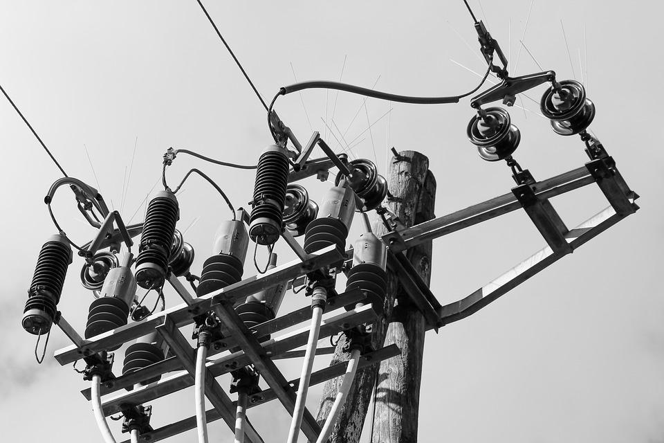 Line, Current, Energy, Electricity, High Voltage