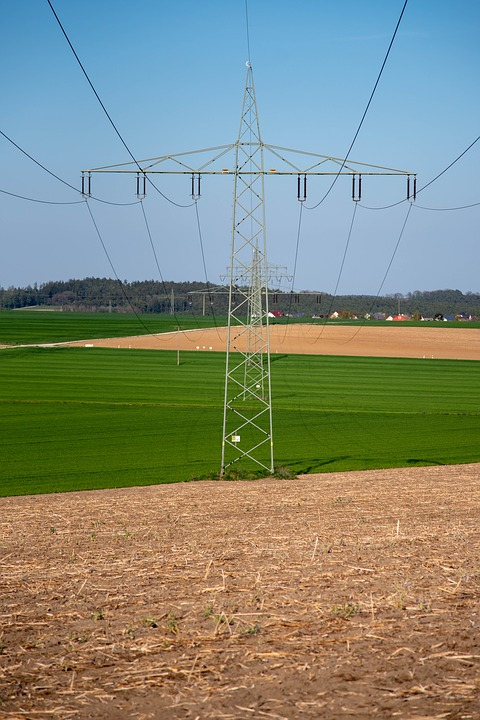 Energy, Electricity, Line, Current, High Voltage