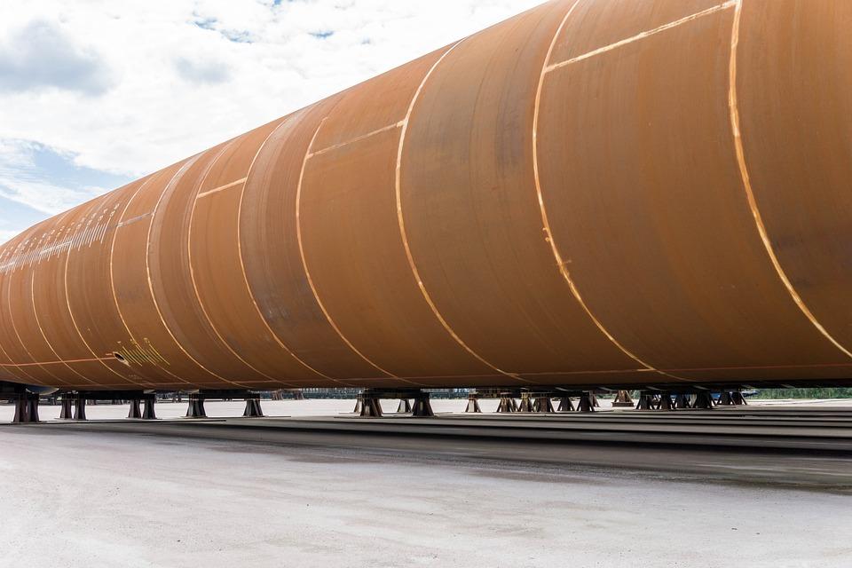 Pipeline, Iron, Steel, Lines, Flow, Line, Metal, Flange