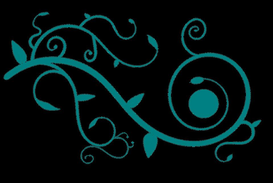 Vector, Decoration, Floral, Lines, Artistic, Creative