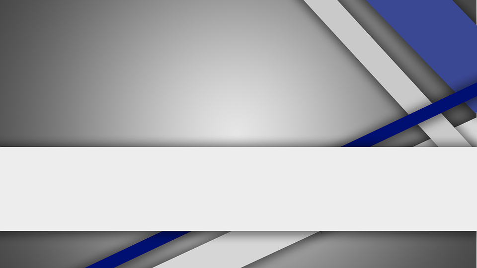 Blue, Lines, Gray, Lower Third, Geometric, Background
