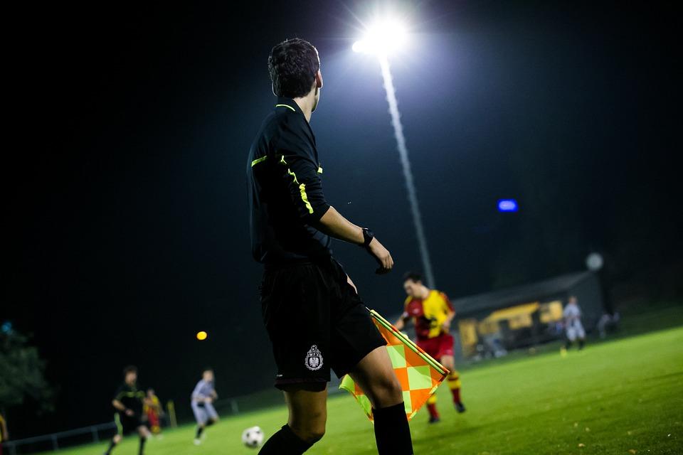 Linesman, Referee, Football