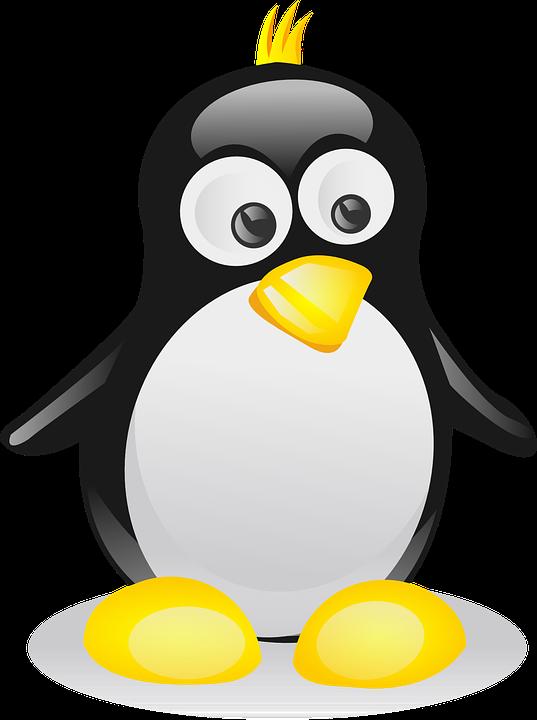 Penguin, Bird, Linux, Mascot, Punk, Tux, Unix