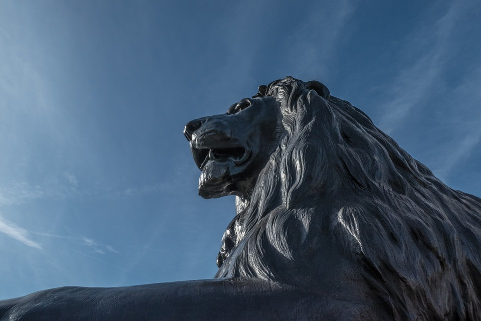 Lion, Statue, Sculpture, Monument, Predator, Courage