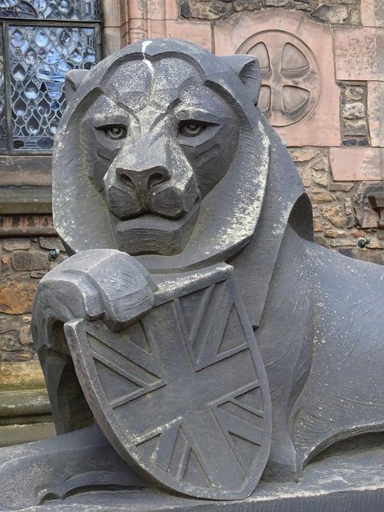 Lion, Scotland, Edinburgh, Coat Of Arms
