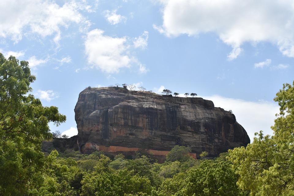 Sigiriya, Lion Rock, Sri Lanka, Asia, Travel, Tourism