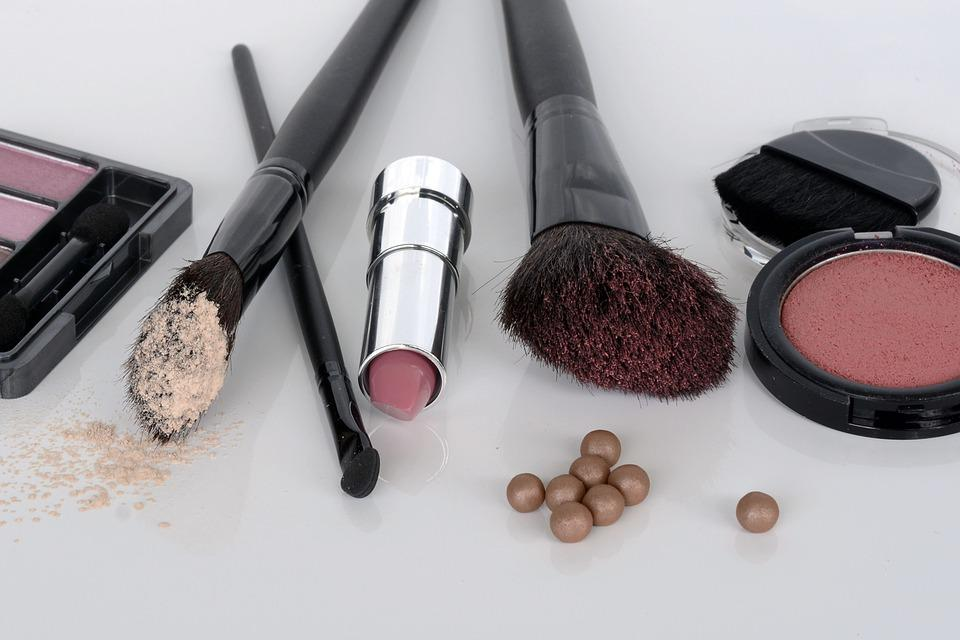 Cosmetics, Eye Shadow, Rouge, Brush, Lipstick, Make Up