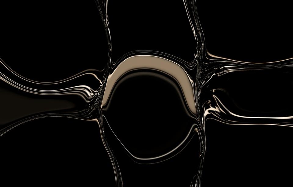 Water, Drop, Liquid, Dark, Background, Fluid, Black