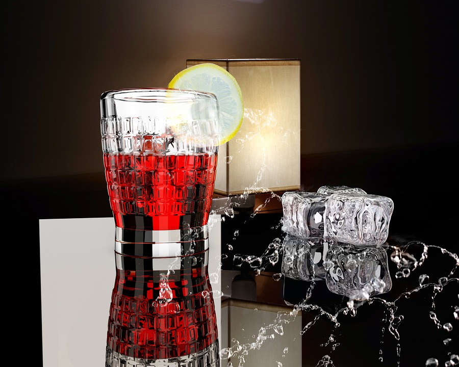 Drink, Ice, Cold, Refreshment, Cool, Background, Liquid