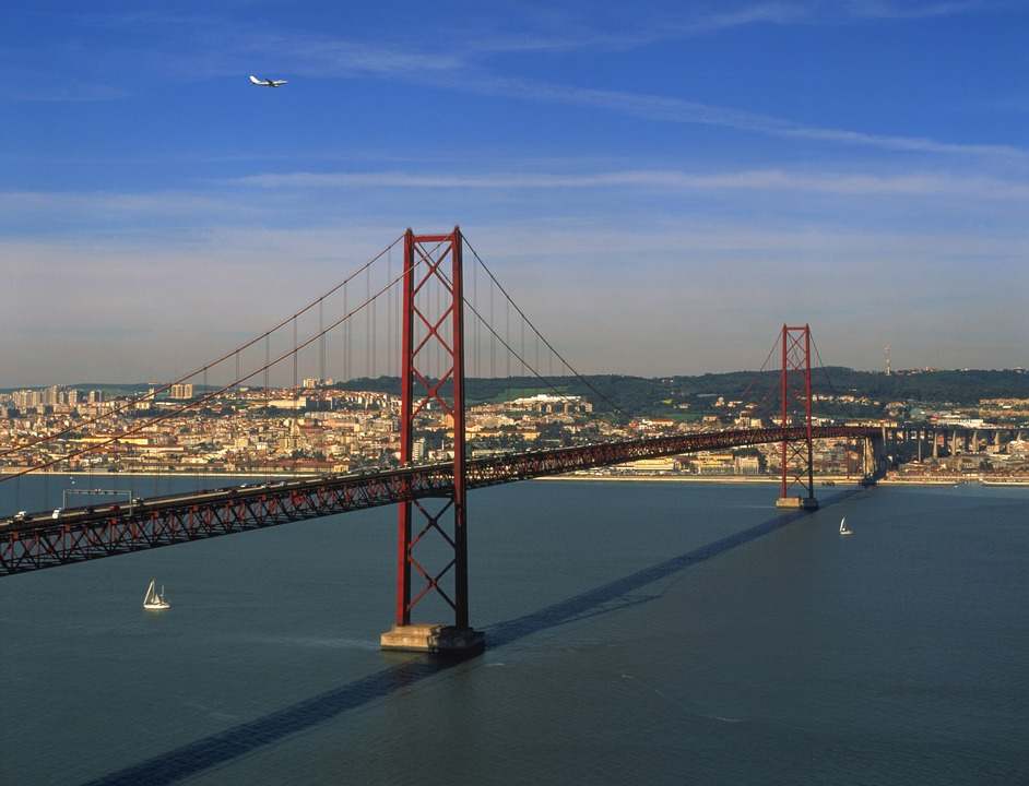 Bridge, Lisbon, City