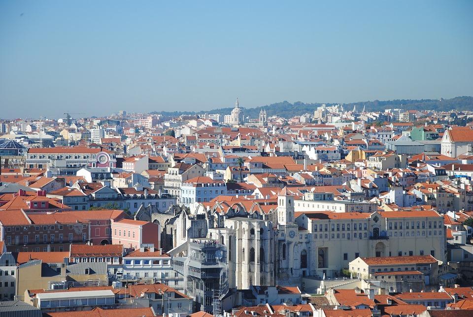 Lisbon, City, Urban Landscape, Roof