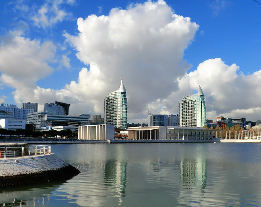 Exhibition, Lisbon, Modern, Cloudy Sky
