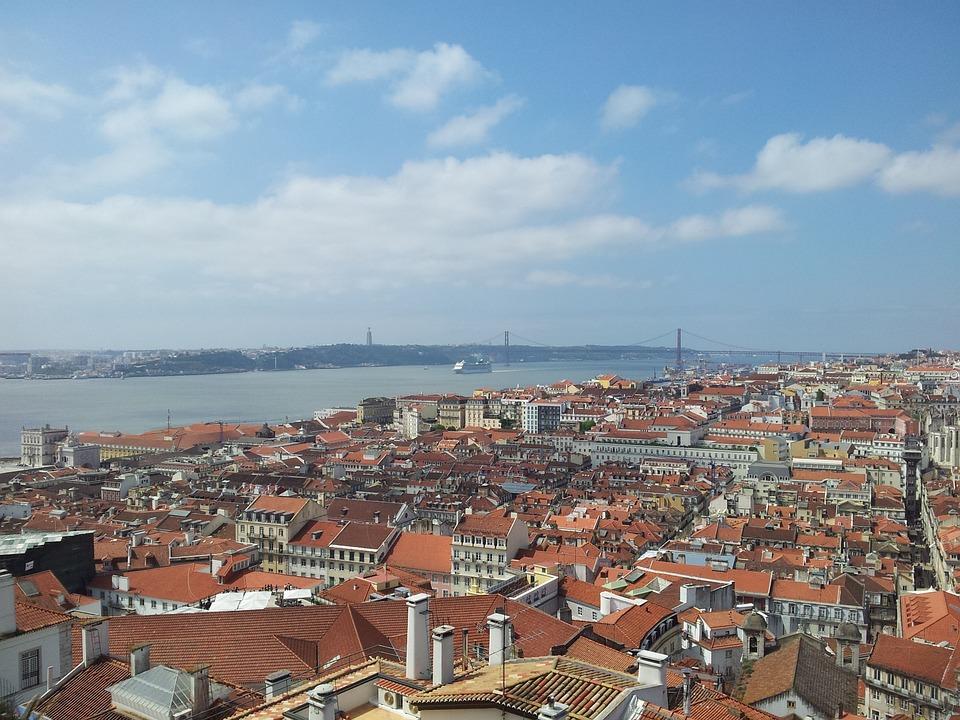 Lisbon, Tajo, View