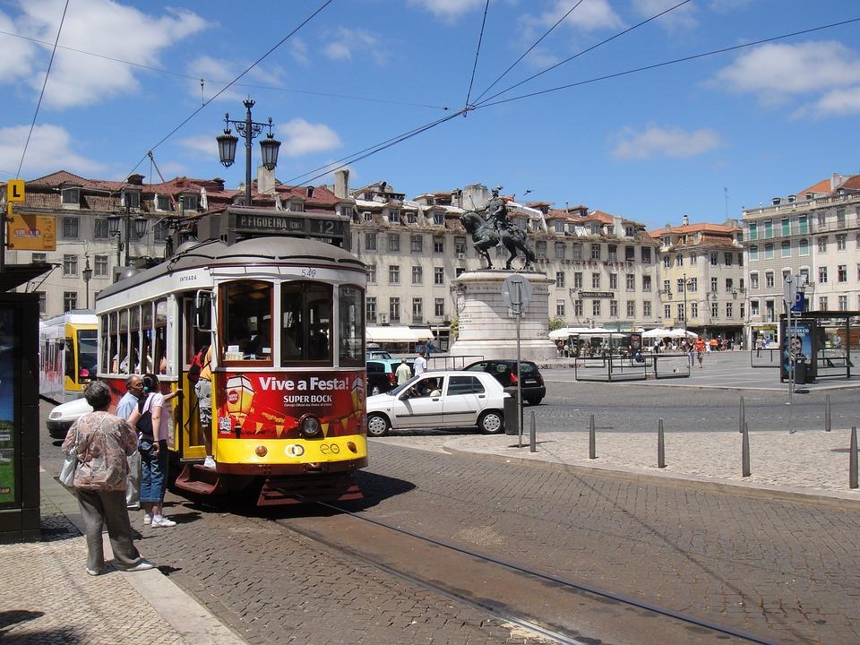 Lisbon, Tram, Portugal