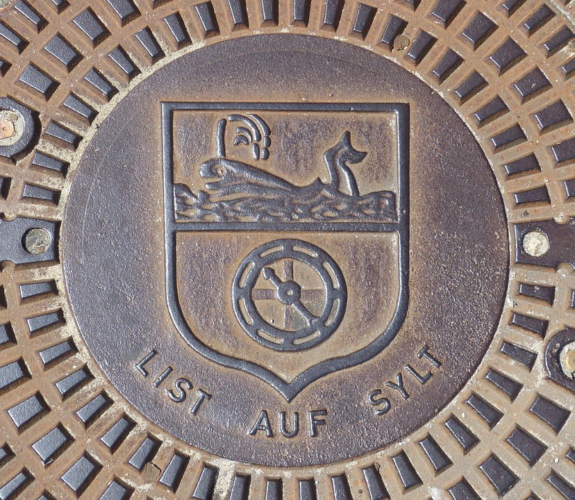 Sylt, List, North Sea, Nordfriesland, Coat Of Arms, Wal