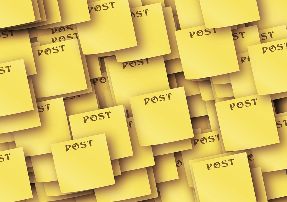 List, Note, Post It, Memory, Sticky Note, Yellow