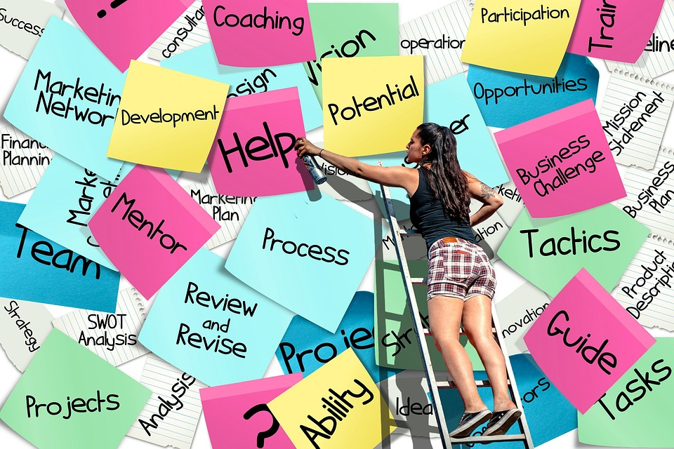 Stickies, Post-it, List, Business, Career, Start Up