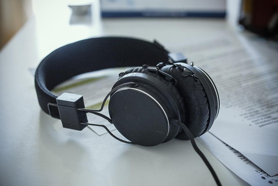 Headphones, Beat, Bass, Sound, Music, Listen, Audio