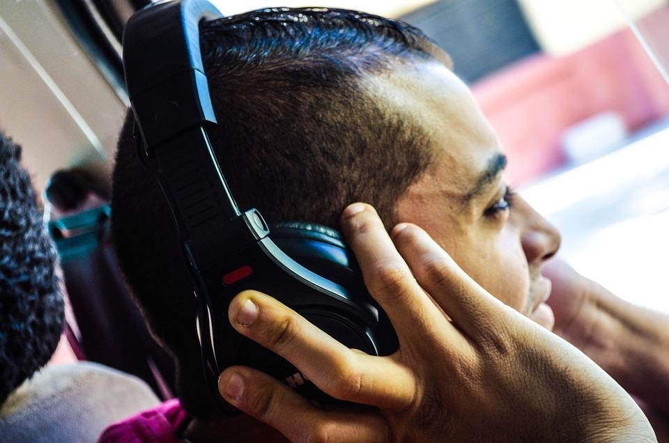 Music, Headphones, Listening, Pleasure