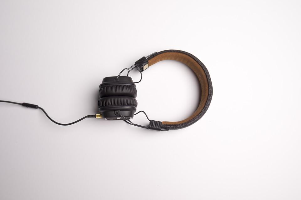 Headphone, Headphones, Listening Music, Music